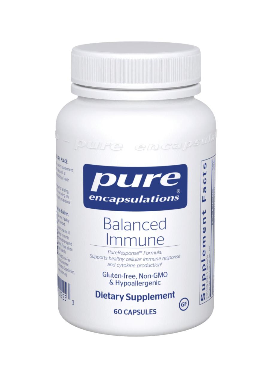 Balanced Immune 60 capsules Pure Encapsulations