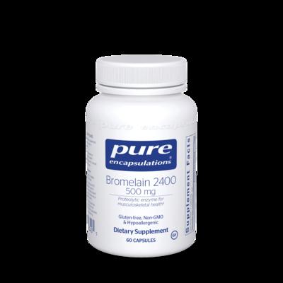 Bromelain 2400 500 mg 60 vcaps