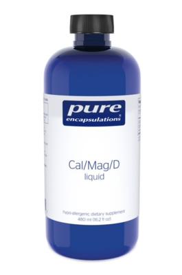 Calcium Magnesium D liquid 480 ml Pure Encapsulations