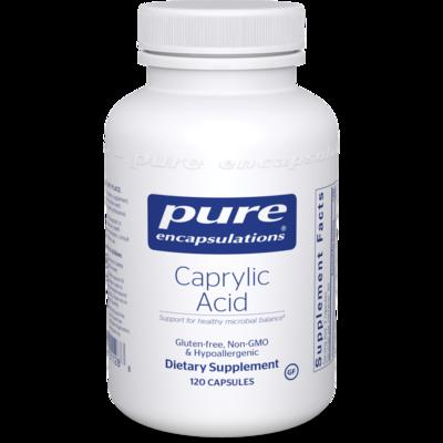 Caprylic Acid 120 vcaps Pure Encapsulations