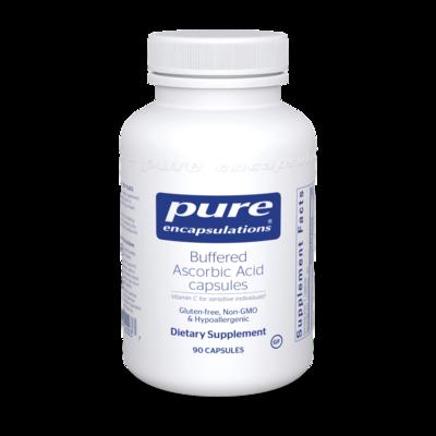 Buffered Ascorbic Acid 90 vcap Pure Encapsulations