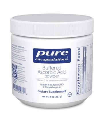 Buffered Ascorbic Acid Powder 227 gms Pure Encapsulations