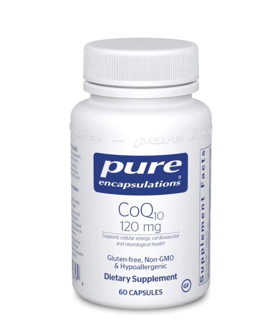 CoQ10 120 mg 60 vegcaps  Pure Encapsulations