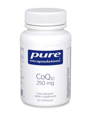 CoQ10 250 mg 60 vegcaps Pure Encapsulations