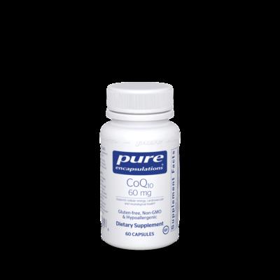 CoQ10 60 mg 60 vegcaps Pure Encapsulations