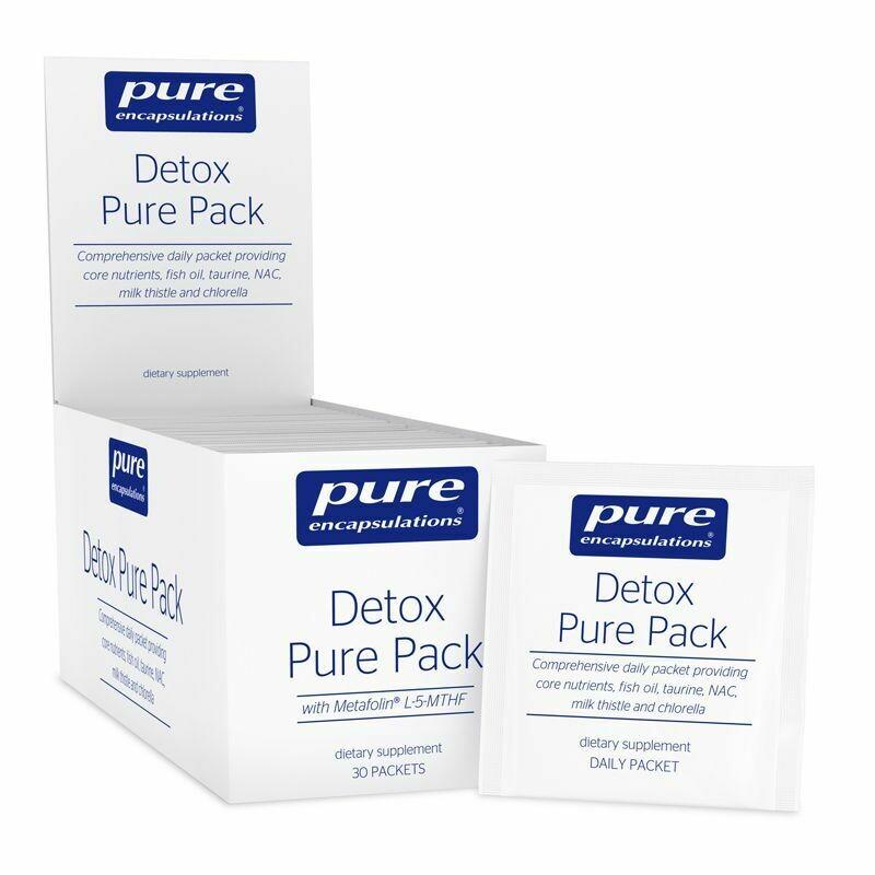 Detox Pure Pack 30 pkts Pure Encapsulations