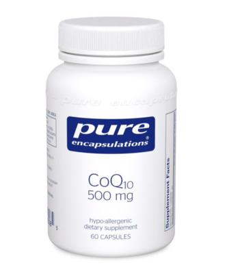 CoQ10 500 mg 60 vegcaps Pure Encapsulations