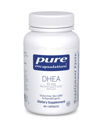 DHEA (micronized) 10 mg 60 vcaps Pure Encapsulations