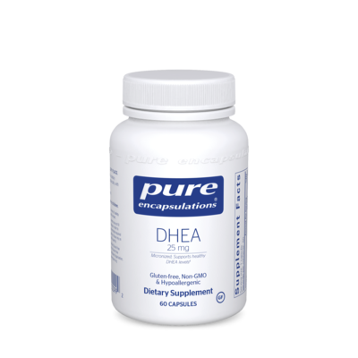 DHEA (micronized) 25 mg 60 vcaps Pure Encapsulations