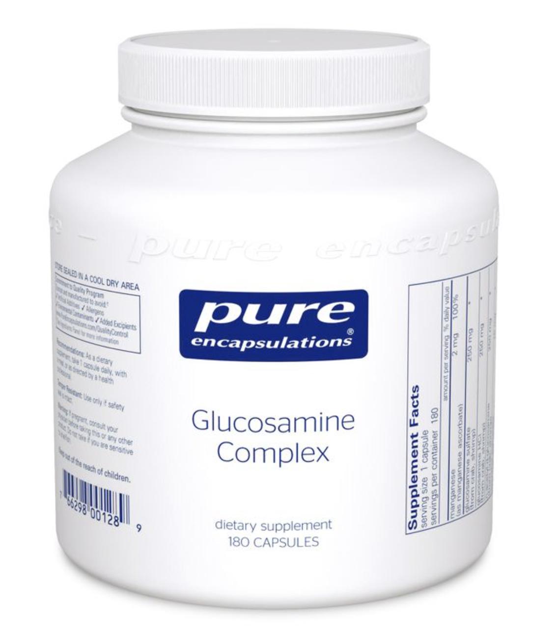 Glucosamine Complex 180 vcaps Pure Encapsulations