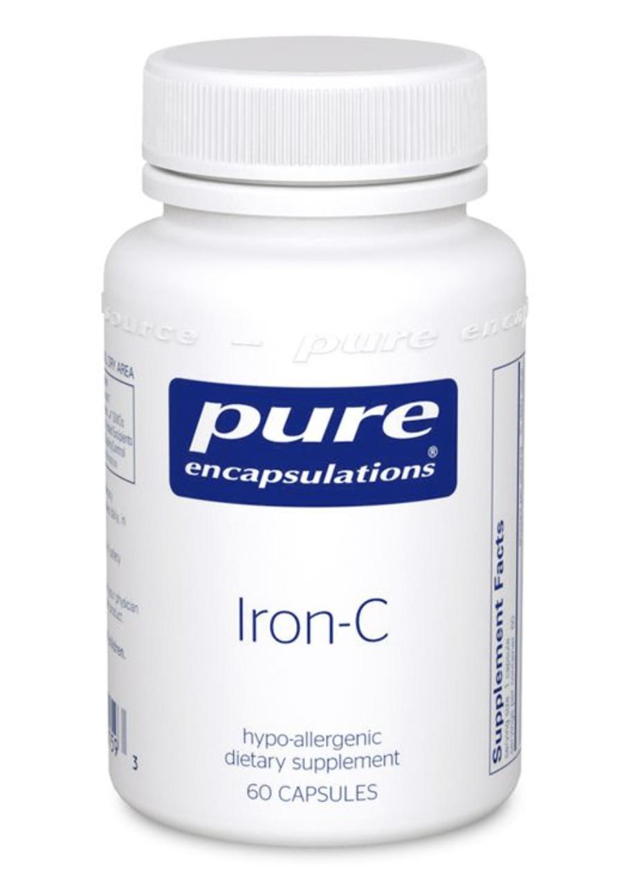 Iron-C  60 vcaps Pure Encapsulation
