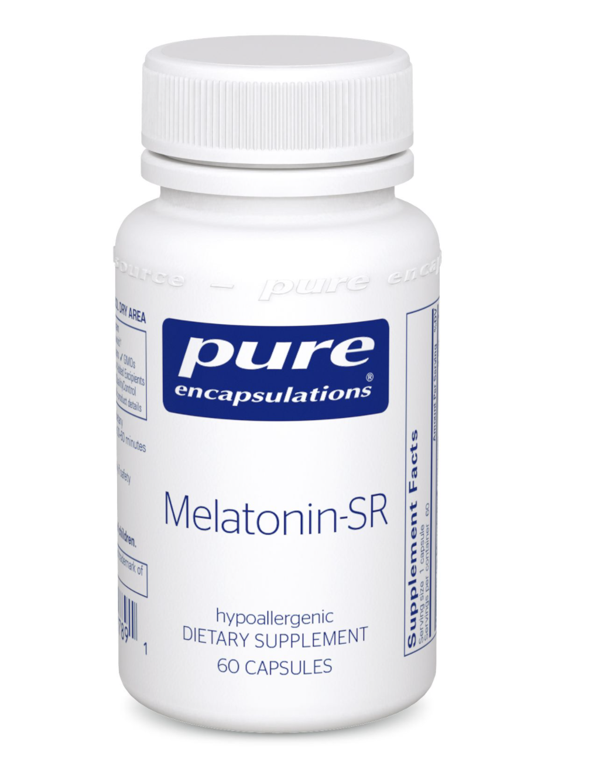 Melatonin-SR 3 mg 60 vegcaps Pure Encapsulations