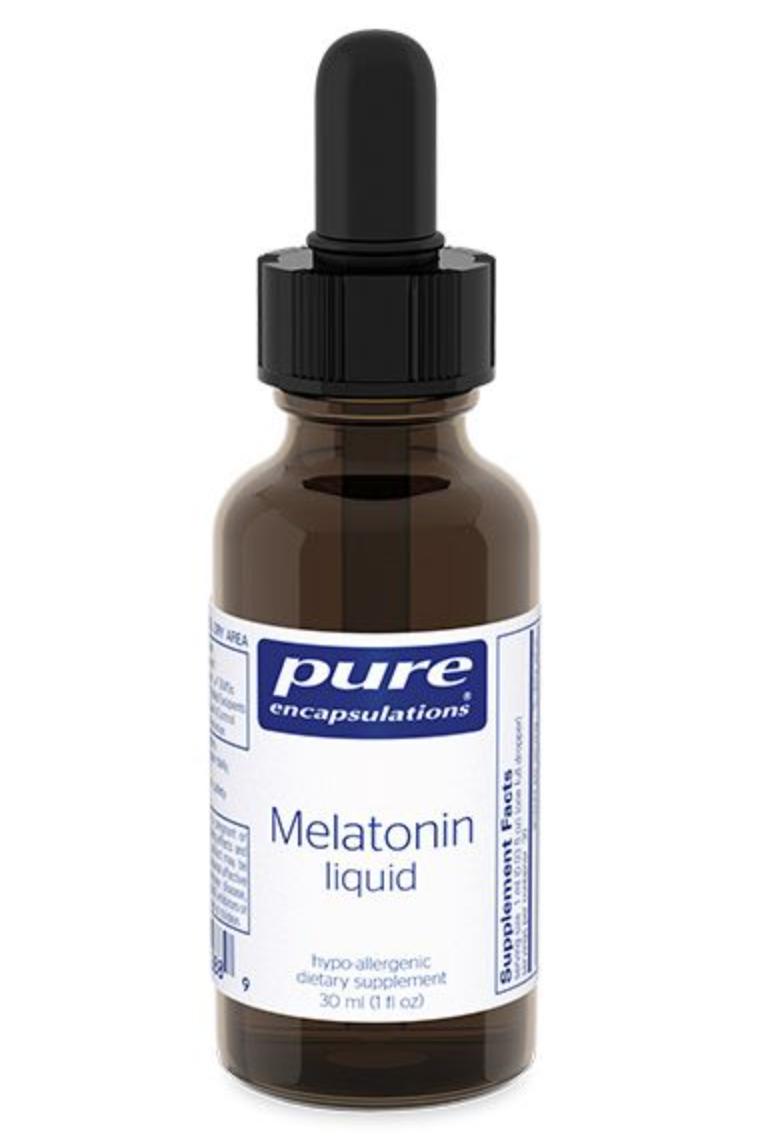 Melatonin Liquid ,Pure Encapsulation 2,5 мg ,30 ml
