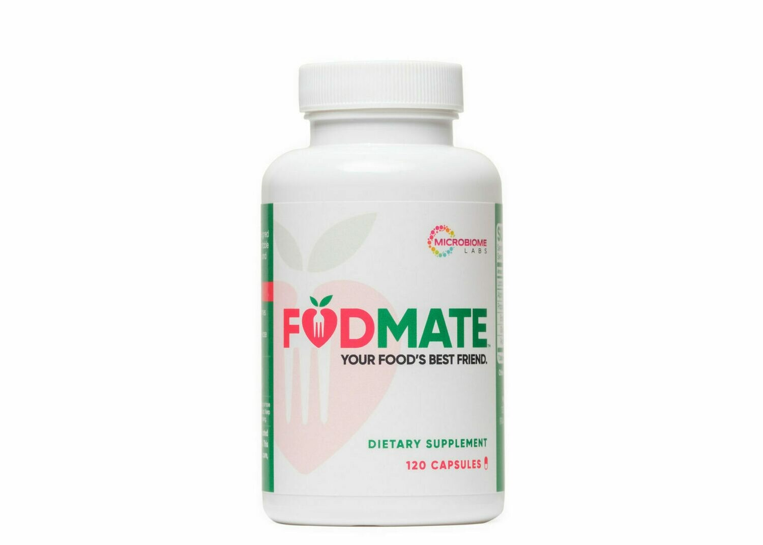 FODMATE 100 capsules Microbiome Labs