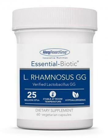 Essential-Biotic L. RHAMNOSUS GG 60 capsules Allergy Research Group