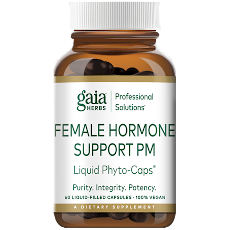 Female Hormone Support PM 60 capsules  Gaia Herbs