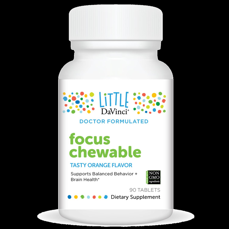 Focus Chewable  90 tablets DaVinci Laboratories