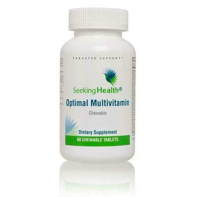 Optimal Multivitamin Chewable 60 tablets Seeking Health