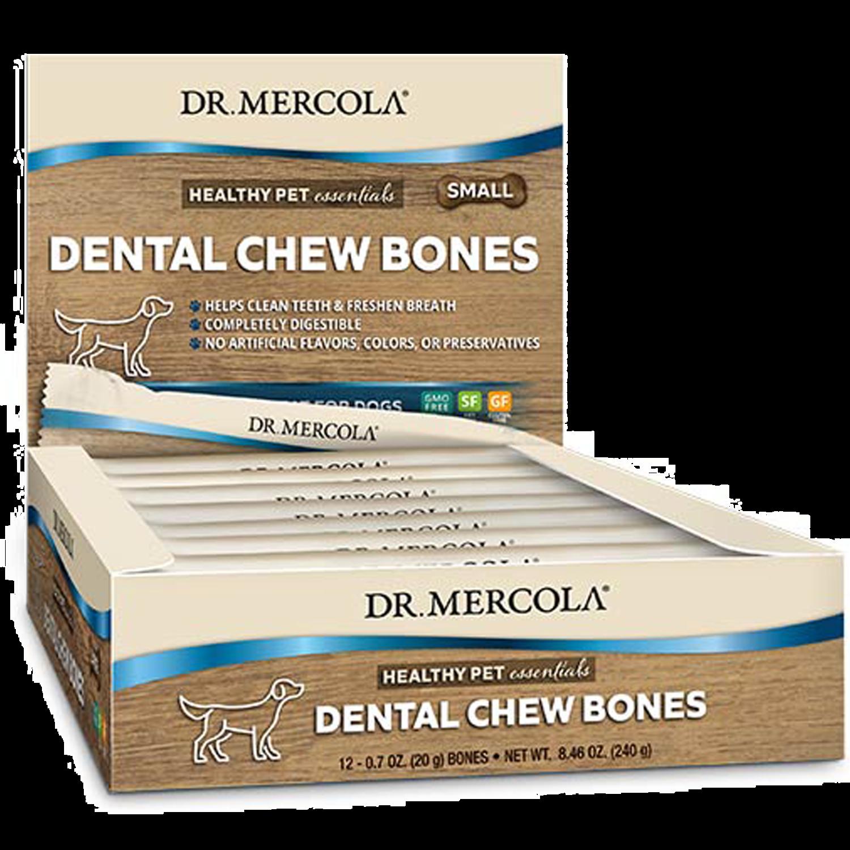 Dog Dental Chew Bones Small  12 pk Dr. Mercola