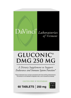 GLUCONIC DMG 250 mg 60 capsules DaVinci Laboratories