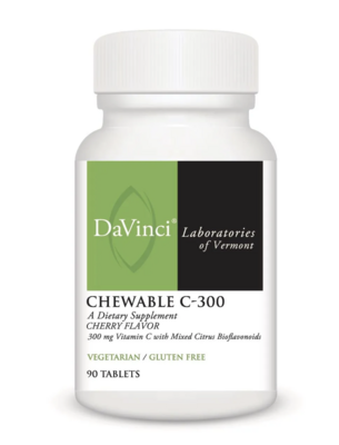 CHEWABLE C-300 mg 90 tablets DaVinci Laboratories