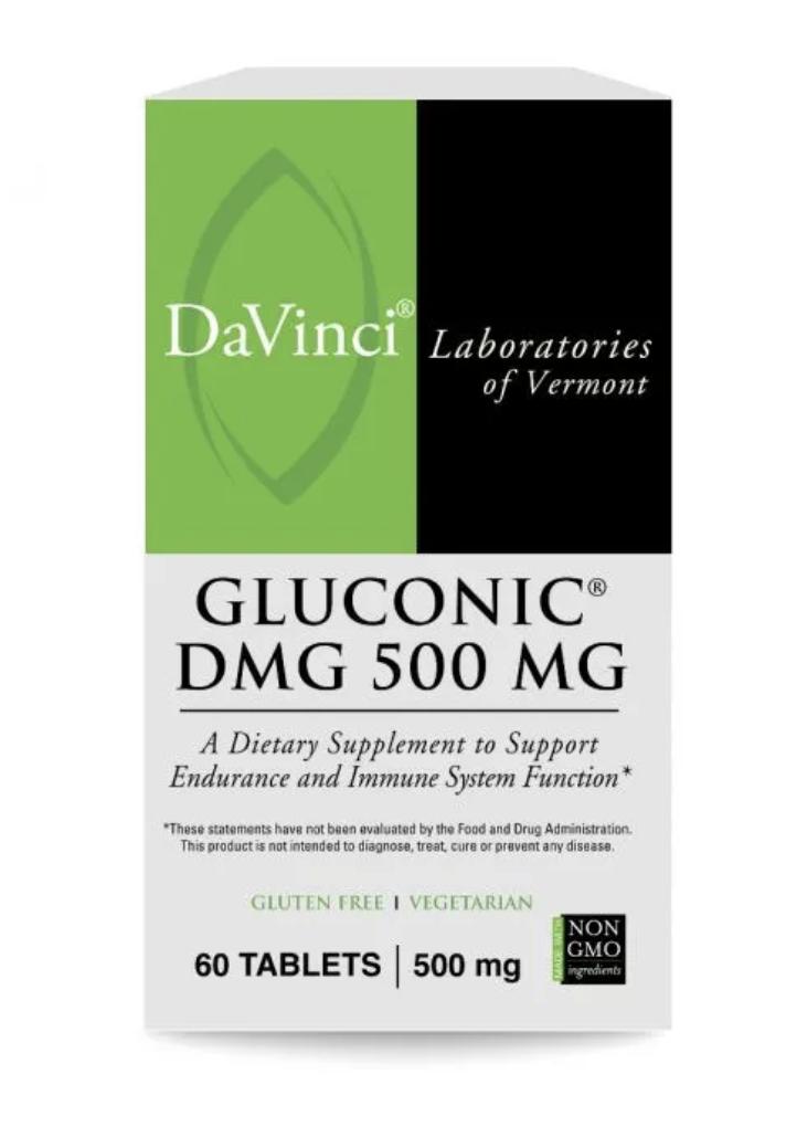 GLUCONIC DMG  500 mg 60 Chewable Tablets DaVinci Laboratories