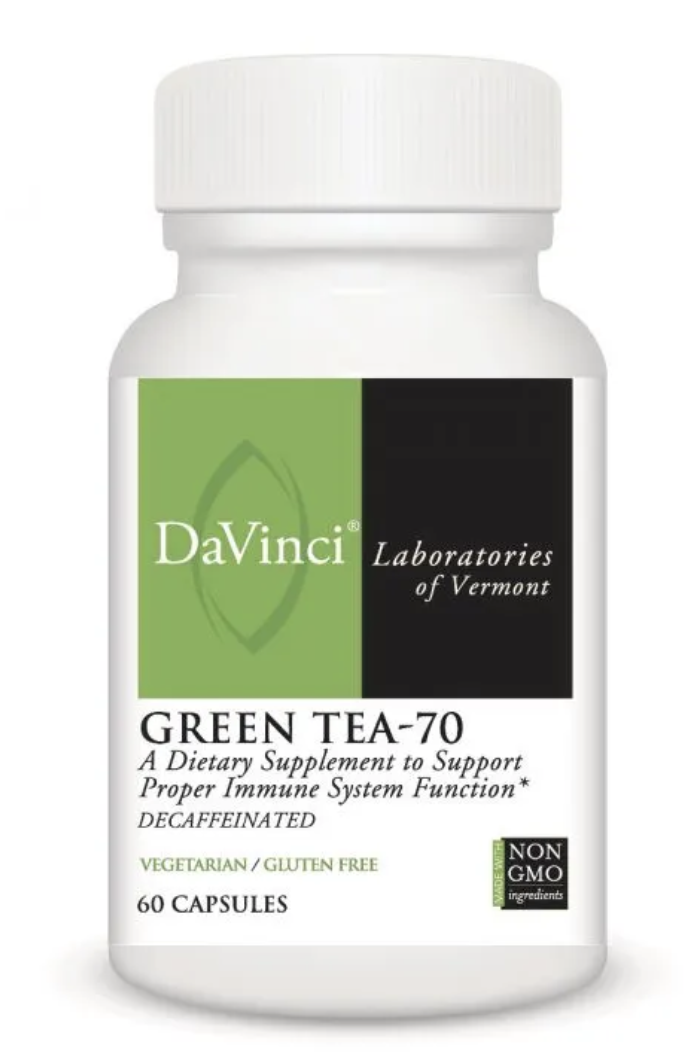 GREEN TEA-70  60 Vegetarian Capsules DaVinci Laboratories
