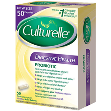 Digestive Probiotic 50 capsules I-Health