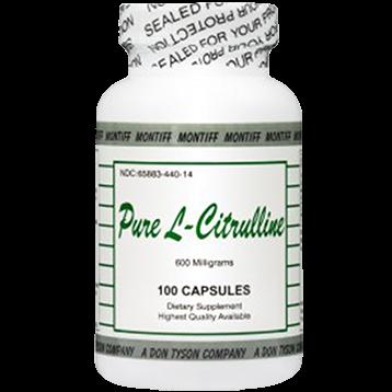 Pure L-Citrulline 600 mg 100 caps