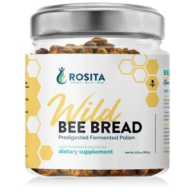 Wild Bee Bread 100 grams Rosita