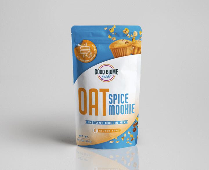 GoodBiome Foods Oat Mookie 7 packs Microbiome Labs
