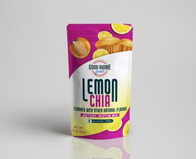 GoodBiome Foods Lemon Chia 7 packs Microbiome Labs