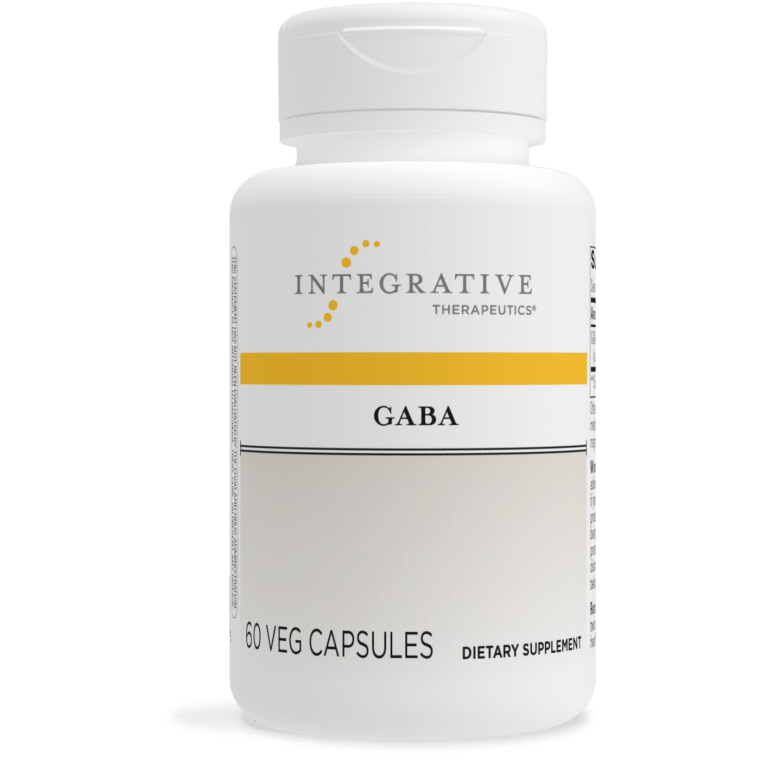 GABA 750 mg 60 veg capsules Integrative Therapeutics