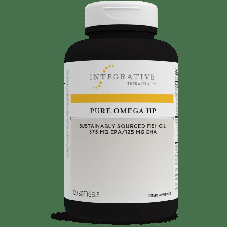 Pure Omega HP 120 softgels Integrative Therapeutics