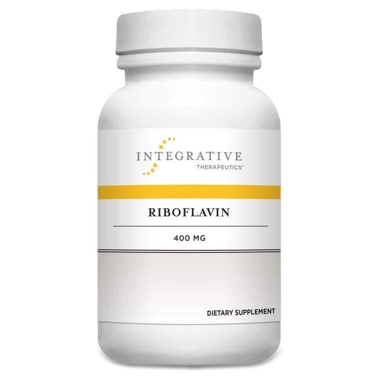 Riboflavin (Vitamin B-2) 200 mg 30 tablets Integrative Therapeutics