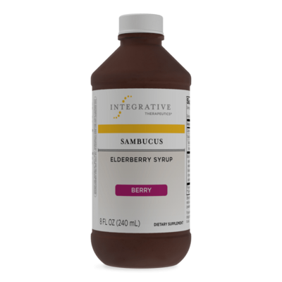 Sambucus Elderberry Syrup 240 ml  Integrative Therapeutics