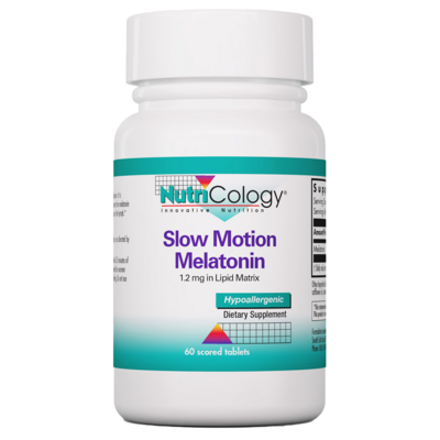 Slow Motion Melatonin 1,2 mg  60 tablets NutriCology