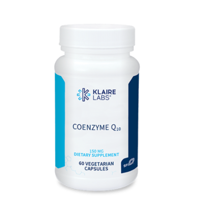 COENZYME Q10, Klaire Labs (150 MG) 60 Veg capsules Klaire Labs