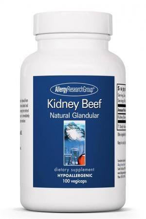 Kidney Beef 100 Vegicaps Allergy Research Group