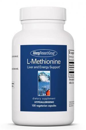 L-Methionine 500 Mg 100 Vegetarian Capsules Allergy Research Group