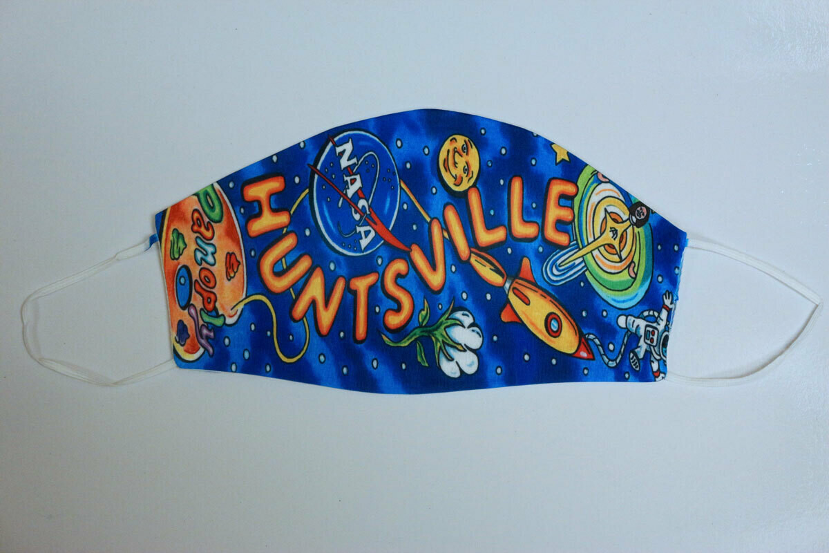 """Huntsville"" Face Mask"