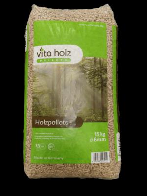Vita Holz zak (afhalen) 15 KG