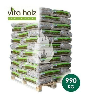 Vitz Holz Pallet (afhalen) 66 x 15 KG
