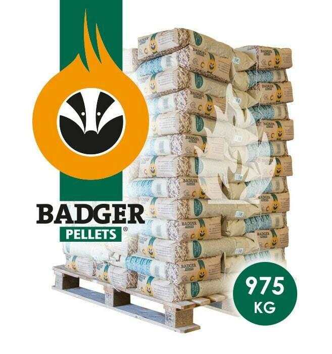 Badger Pallet (thuisbezorgd) 65 x 15 KG