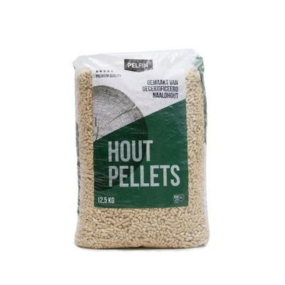 Pelfin houtpellets (thuisbezorgd) 84 x 12,5 KG