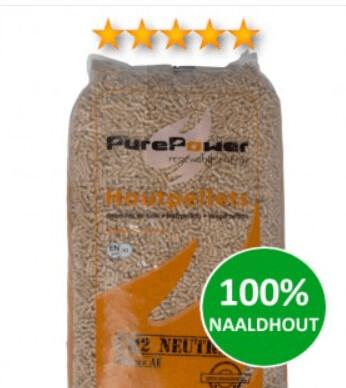 Pure Power naaldhout 5-sterren (thuisbezorgd) 66 x 15 KG