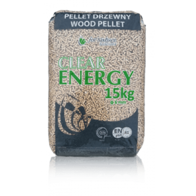 Clear Energy 100% naaldhout (thuisbezorgd) 70 x 15 KG