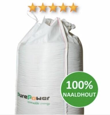 Pure Power ENplus naaldhout 5-sterren in big bag (thuisbezorgd) 1000 KG