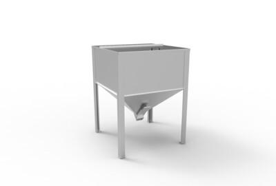 Biomassa opslagsysteem 500 kg (thuisbezorgd)