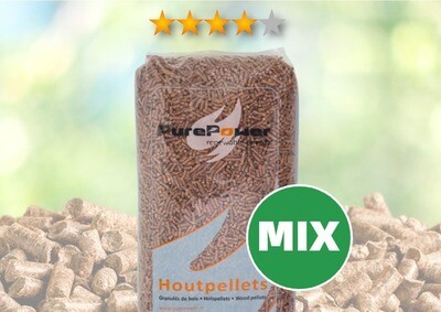 Pure Power (naald-/loofhout) 4-sterren (thuisbezorgd) 66 x 15 KG